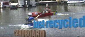 Recycled Cardboard Boat Regatta